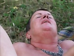 Xhamster - Granny BBW Lesbians Eat Each Other on a Picnic