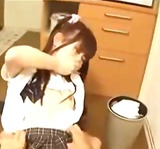 Schoolgirl Sucking Guy Fucked Getting...