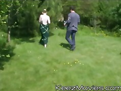 gangbang, public, keezmovies, group, outdoors, hardcore, blowjob, blonde