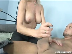 big-tits, mom, orgasm, nerdy, hand-job