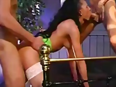 Bukkake euro whore fuck and facial
