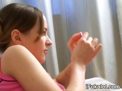 luxury darkhair toying... video