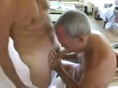 threesome, gay, amateur, mature,
