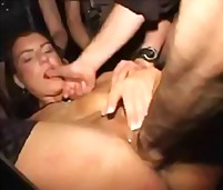 bondage, extreme, group, gang-bang, babe, fetish, slut, bizarre, pussy, brunette, brittney ray, fisting, pervert