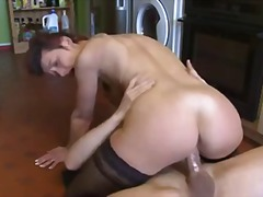 Hot Milf Catches Boy Wanking And Lets...