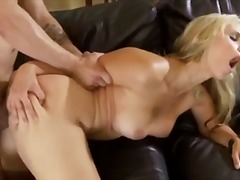 Great hair and tits on Sarah Vandella