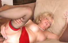 milf, granny, blonde, mature,