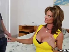 Tube8 - Big Breasted Deauxma Makes Her Friends Boyfriend Fuck Her