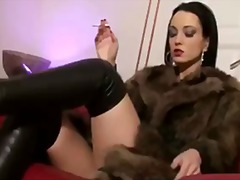 Tube8 Movie:Smoking in fur