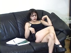 milf, panties, schoolgirl, fetish, masturbation
