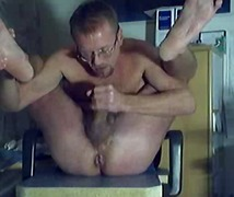Mature Gay Enjoyin His Own Cock