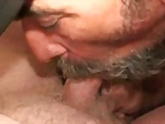 Mature Gay Guy Beating Off & Giving Head