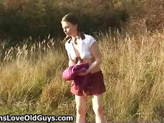 Teen girl on a hike ou... - DrTuber