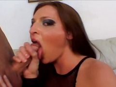 shaved pussy, platinum blonde, anal sex, lauren phoenix, reverse cowgirl, assfucking, big boobs, brown hair, busty, nice ass, doggy style, piledriver