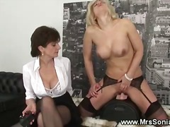 Blonde gets fucked by ...