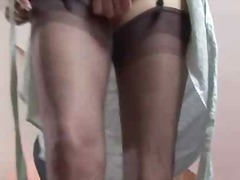 stockings, amateur, pussy, mature,