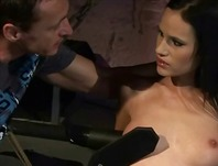 HardSexTube Movie:Cute brunette getting punished