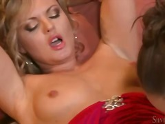 See: Silvia Saint goes down...