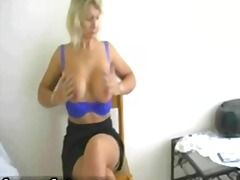 milf, babe, striptease, blonde, tits