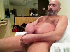 Mature Gay Toying His Dick On Cam