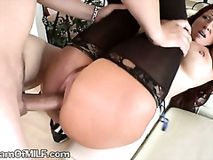 brunette, milf, anal, mature, ass, reality, pussy, amateur, housewife, hardcore