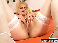mom, dominika, gilf, mature, grandma