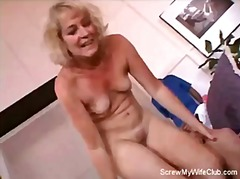 Swinger Wife Gets Scre...
