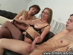 Lady Sonia threesome h...
