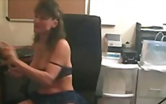 Hot Mature Smoking and Toying