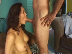 Mature shemale Kristen gets fucked an...