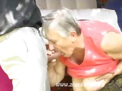sucking, cumshot, outdoor, granny,