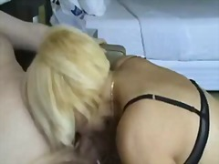 cock, blowjob, mature, blonde,