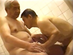 mature, gay, suck, blowjob, asian,