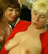 Hot Milf and Teen Lesbos Attraction