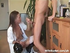 Fucking the wife in th...