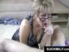 hardcore, blowjob, milf, mature, mom, glasses, cougar