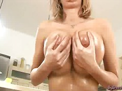 pussy, solo, milf, blonde