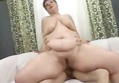 Bbw Mature Fucked By B...