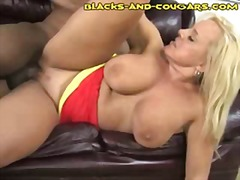 milf, interracial, mom, ebony,