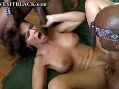 hardcore, threesome, interracial