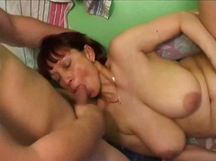 Amalia avon lady banged by horny lads