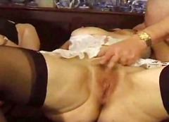 British Amateur Matures Gangbang