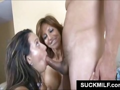 milf, threesome, babe, oral, blowjob,
