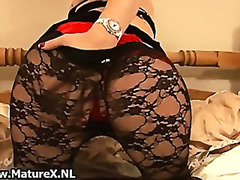 Blonde mature lady in ...