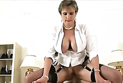 Mature stockings brit slut fuck and f...