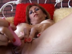 solo, dildo, mature, masturbation,
