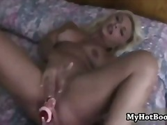 solo, blonde, masturbation, toys,