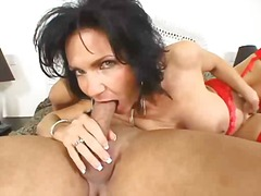 blowjob, mature, brunette,