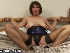 Horny old mom spreads ...