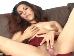 Sexy Arab girl gets horny and pleases...